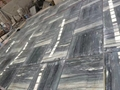 Grey blue galaxy marble floor tile