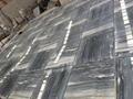 Grey blue galaxy marble floor tile 1
