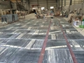 Grey blue galaxy marble floor tile 3