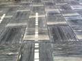 Grey blue galaxy marble floor tile 5