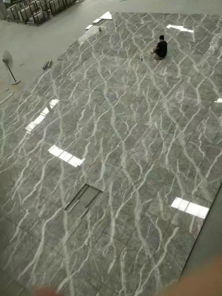 Luxury grey fior di pesco marble 1