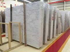 Beautiful oriental white marble