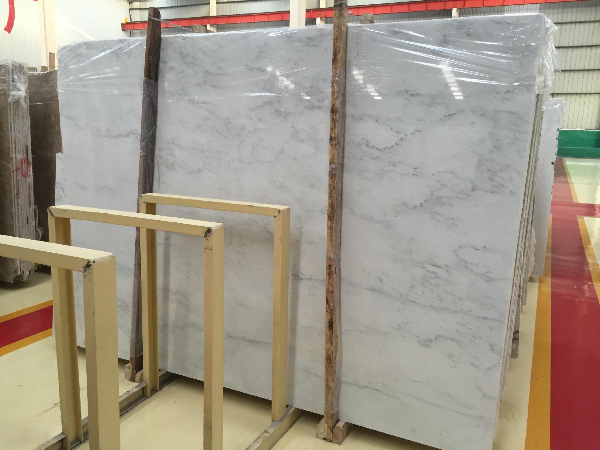 Beautiful oriental white marble 4