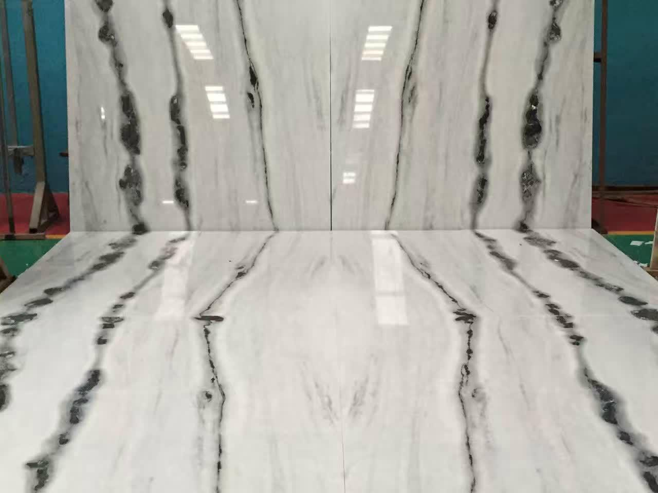 China Panda White Marble Floor China Manufacturer