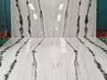 China panda white marble floor
