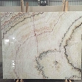 Rainbow white onyx wall panel