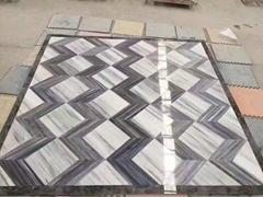 China white palissandro marble