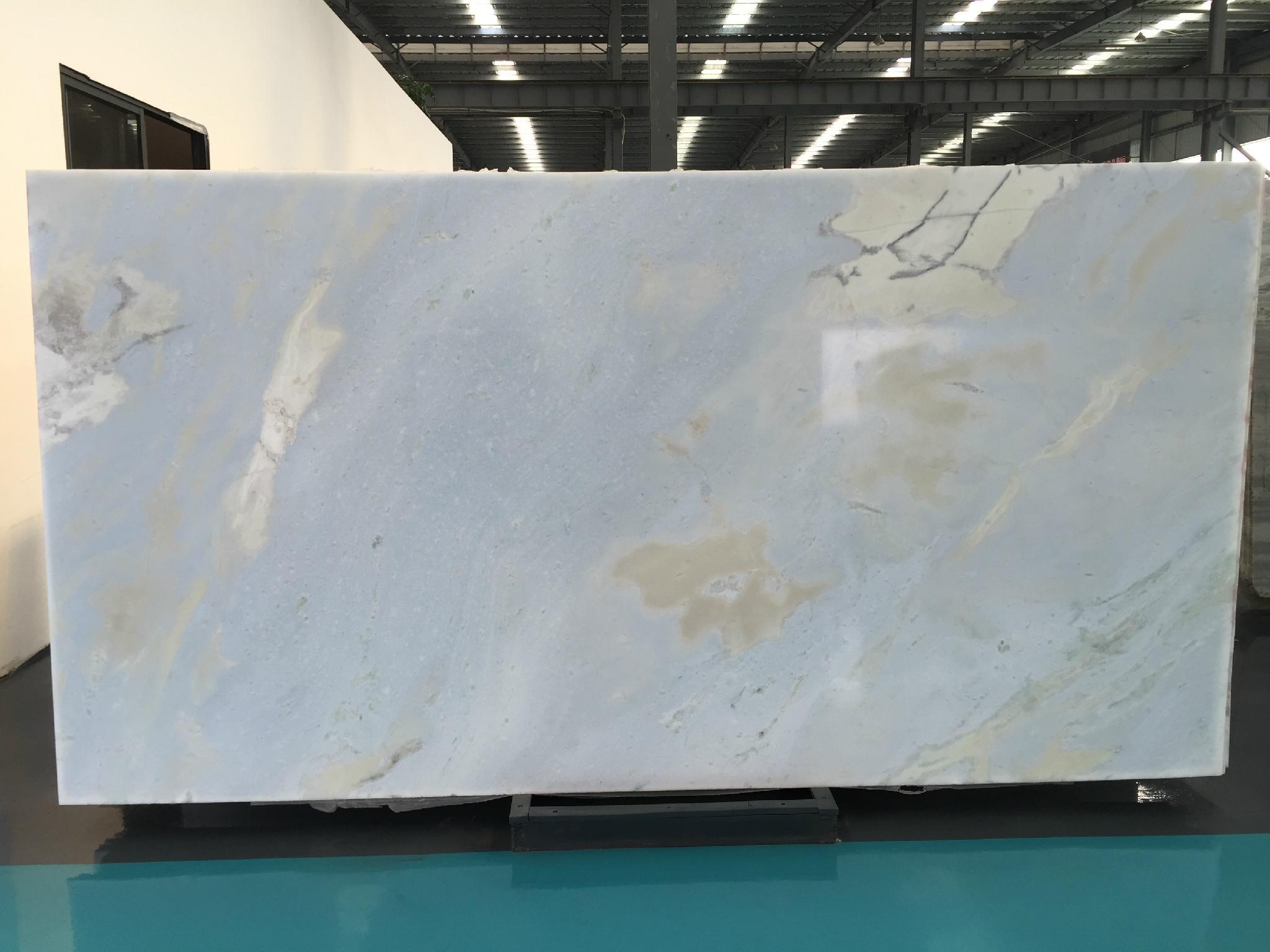 Raw Fancy Blue Onyx Slab China Manufacturer Onyx