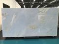 Raw fancy blue onyx slab