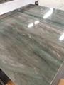 Luxury elegant royal green marble