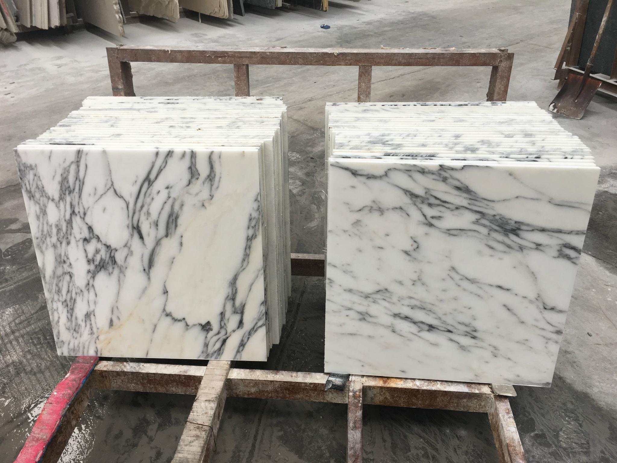 Cut to size arabescato marble tile 1