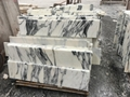 Cut to size arabescato marble tile
