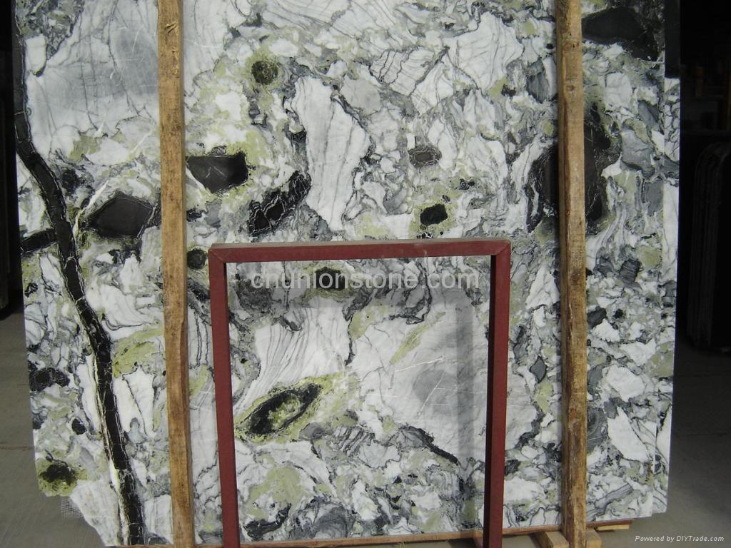 Landscape painting marble 1