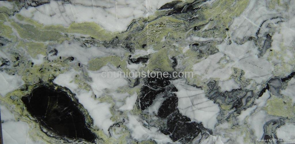 Landscape painting marble 2
