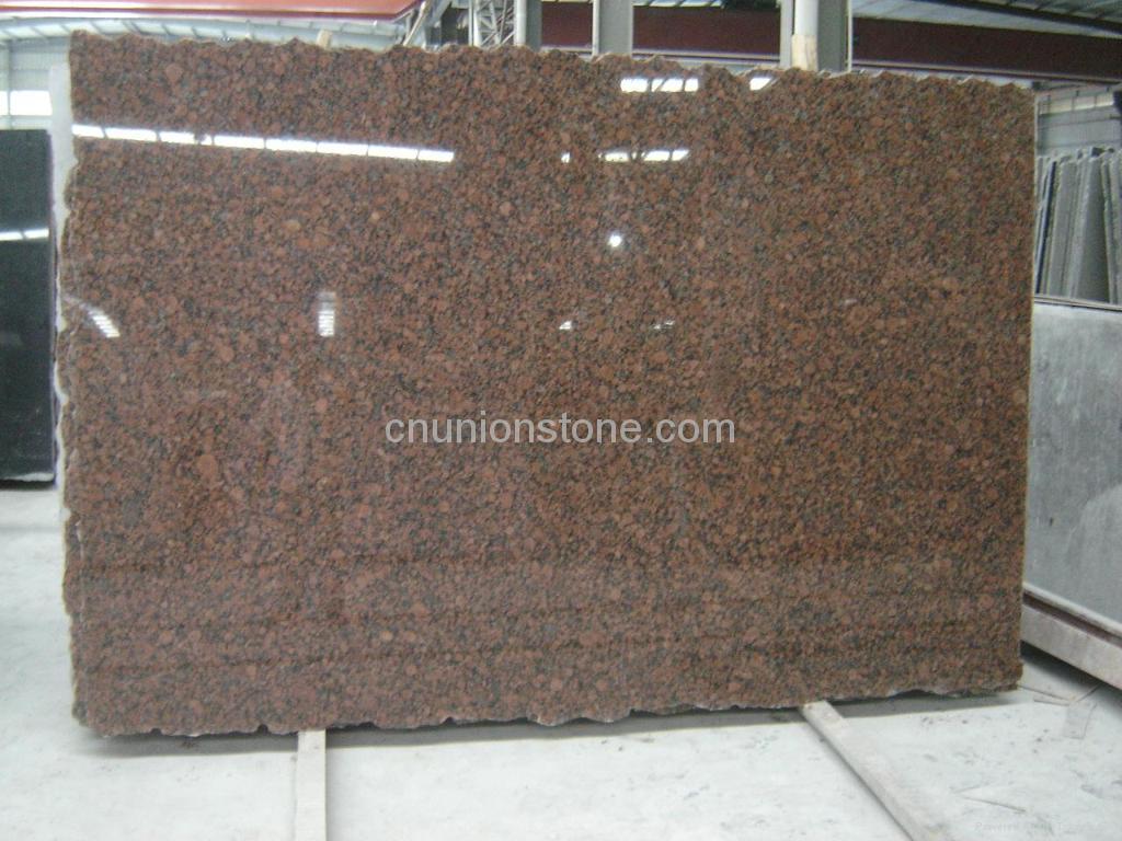 Baltic Red Granite : Baltic red granite slabs china manufacturer