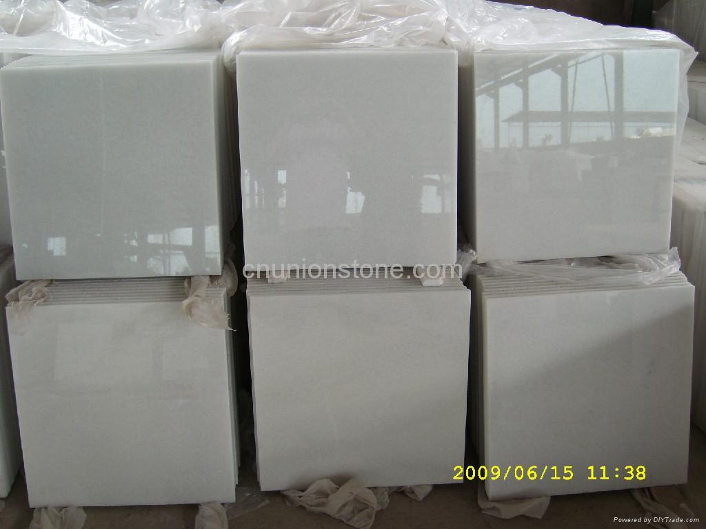 Crystal White Marble Tiles 1
