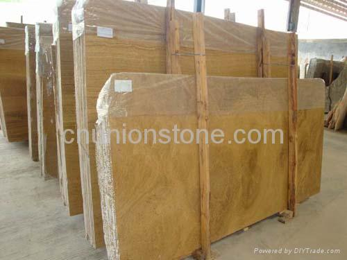 Imperial wood vein (cloudy vein yellow marble) 1