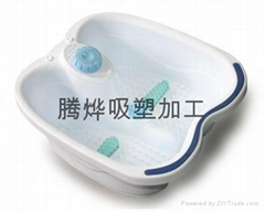 大型厚板吸塑加工(浴缸外壳吸塑)