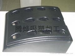 大型厚板吸塑加工(高尔夫球杆底座)