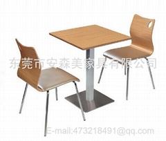 T562# 餐厅桌椅