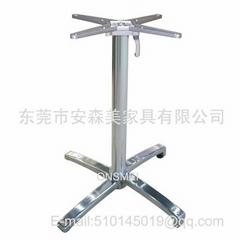 H125# 铝合金折叠桌脚