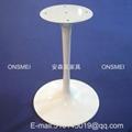 H018# 白色烤漆金屬桌腳 3