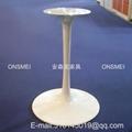 H018# 白色烤漆金屬桌腳 4