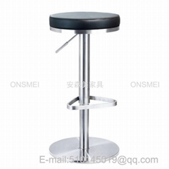 BS67# Stainless steel bar stool