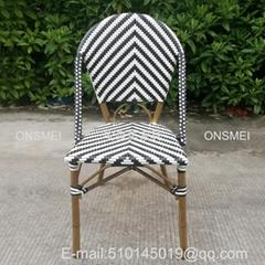 K136# 戶外竹藤餐椅