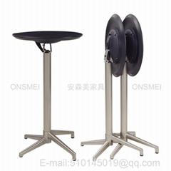 BT12H# Foldable bar table