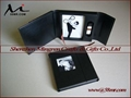 Wedding Leather Fabric CD DVD USB Case Packaging Box 4