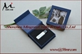 Magnet Wedding Linen USB Flash Drive Storage Packaging Gift Box 5