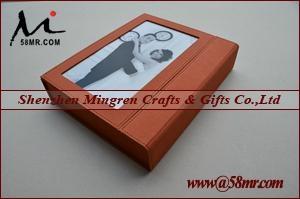 wedding Leather Linen Photo Album Storage Packaging Box 2