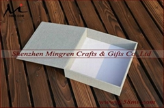 10x10 Leather Fabric Linen Wood Photo Album Storage Packaging Box
