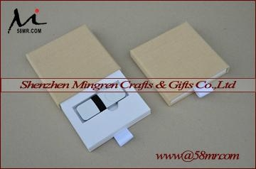 Drawer Wedding Linen USB Flash Drive Packaging Gift Box for photographer 2