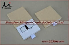 Drawer Wedding Linen USB Flash Drive Storage Packaging Gift Box