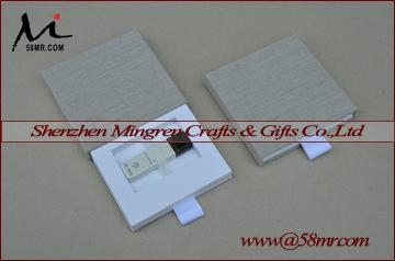 Drawer Wedding Linen USB Flash Drive Packaging Gift Box for photographer 3