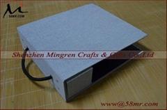 Fabric Linen Velvet DIY Swatch Sample Book Cover