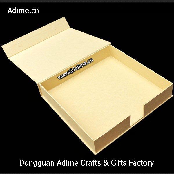 wedding Leather Linen Photo Album Storage Packaging Box 5