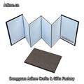 4x6 Fabric Cloth Linen Accordion Photo