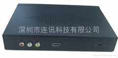 High definition media player/Digital signage media player/LCD display LX-C6