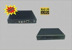 高清1080P支持天气预报LCD联播系统 LX-N8
