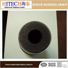 Hitech high alumina carbon refractory nozzle for ladle slide gate