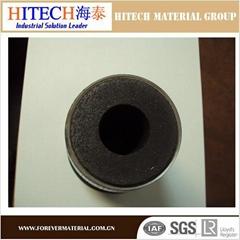 Hitech high alumina carbon refractory nozzle for ladle slide gate
