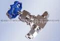 304不锈钢材质直通卡套针阀Φ10 5