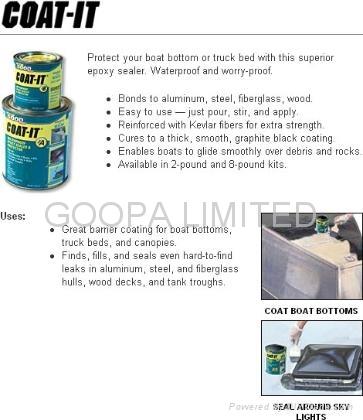 Coat-It ® 环氧密封胶水含Kevlar ®  2