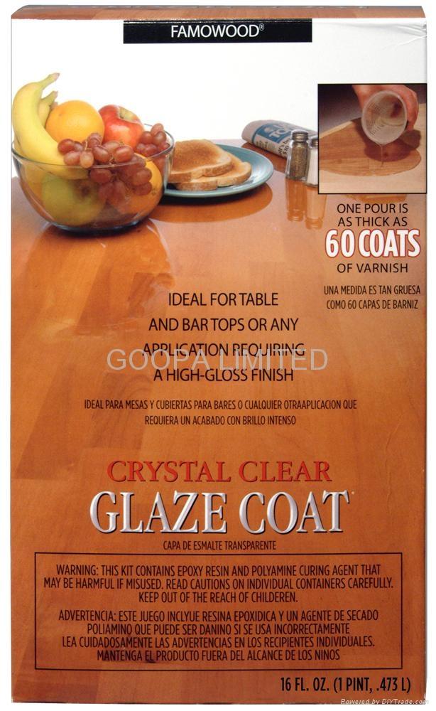 Glaze Coat 晶亮環氧樹脂塗料 2