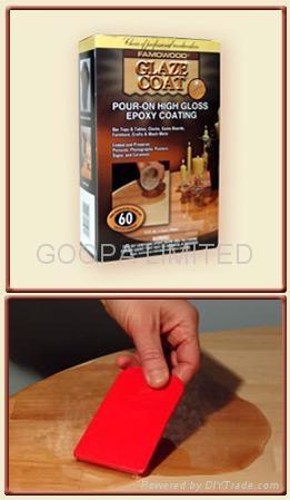 Glaze Coat 晶亮環氧樹脂涂料 3