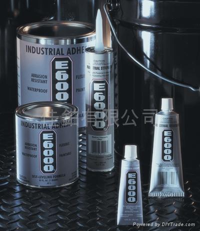 E-6000® 自動流平膠水封填劑 (工業用) 1