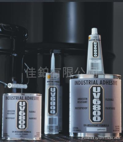 UV-6800® 抗紫外光膠黏劑及密封膠